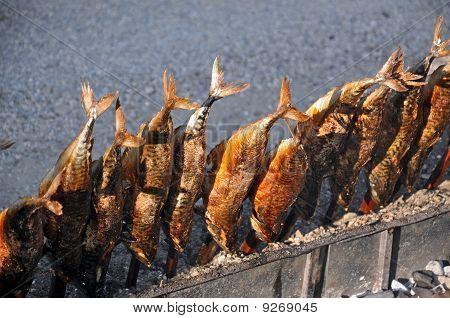 Steckerlfisch - Fish On A Stick