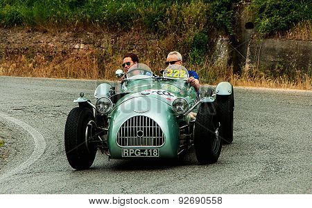 old car  HW Alta Jaguar 1951   mille miglia 2015