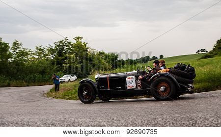 old car MERCEDES BENZ 710 SSK 1929 mille miglia 2015