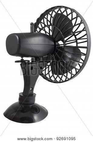 Portable Black Mini Fan