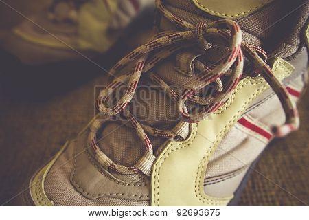 Hiking Boots, Vintage