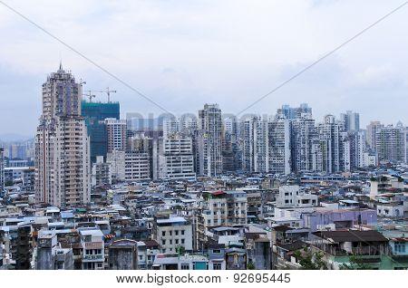 Old Apartment Block - Macau, China