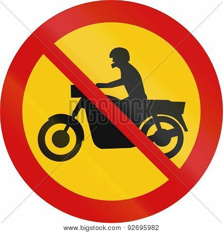 No Motorcycles In Iceland