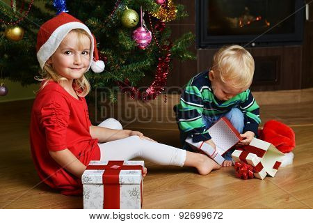 Boy With Sister