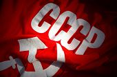 image of communist symbol  - Soviet Flag - JPG