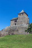 image of fortified wall  - The Bedzin Castle - JPG