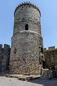 picture of fortified wall  - Tower of the Bedzin Castle - JPG