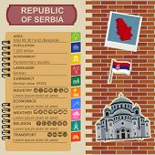 pic of serbia  - Serbia infographics - JPG