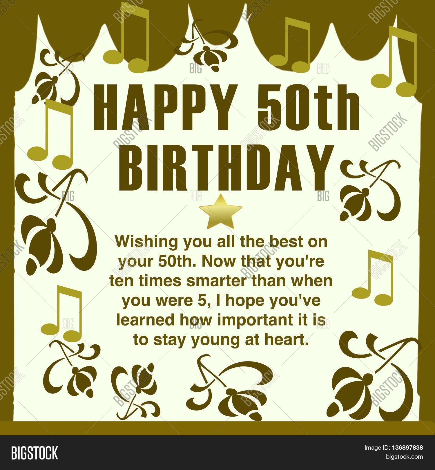 50 Birthday Quotes For Friend: Happy 50th Birthday Wishes Family, Image & Photo