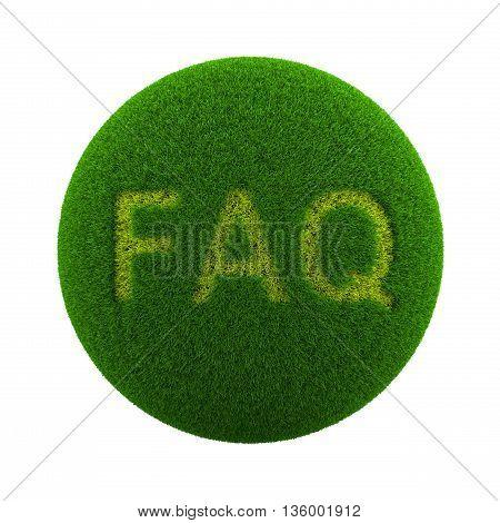 Grass Sphere Faq Icon
