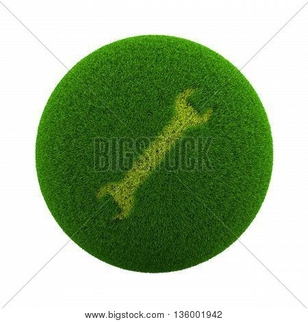 Grass Sphere Support Icon