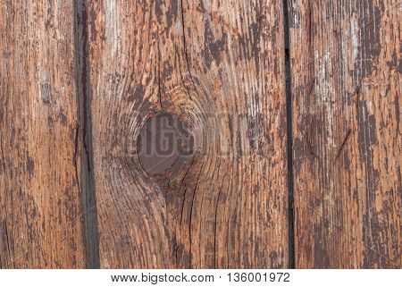 chipped paint on the door of the old boards, perfect background for your concept or project