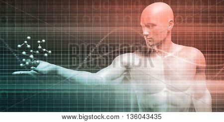 Global Integration of Technologies as a Concept 3d Illustration Render