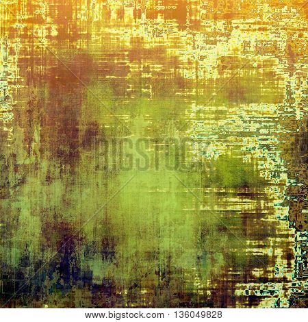 Ancient textured background or shabby backdrop. With different color patterns: yellow (beige); brown; green; blue; red (orange)