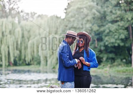 Rich And Stylish African American Couple