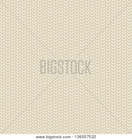 Seamless classic knitted pattern background and texture