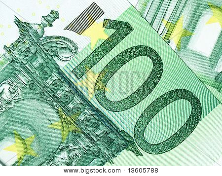 One Hundred Euros Money
