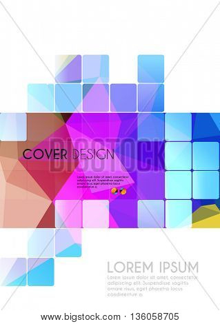 Cover Annual Poster Card Design easy editable