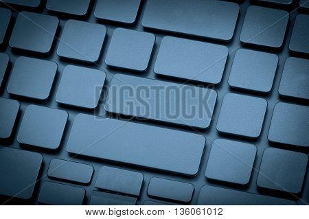 Laptop Keyboard No Letters.