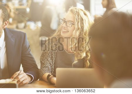 Business People Discussion Ideas Meeting Concept