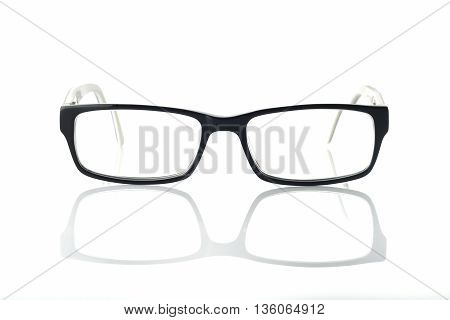 Eyeglasses / High resolution image of eyeglasses on white background shot in studio
