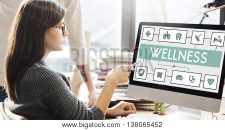 Health Cure Medicine Medical Wellness Concept