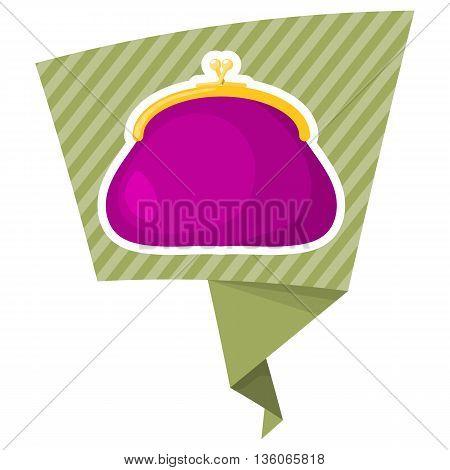 Purse Colorful Icon