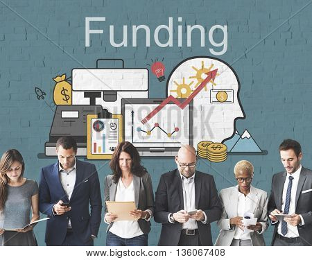 Funding Investment Financial Assets Concept