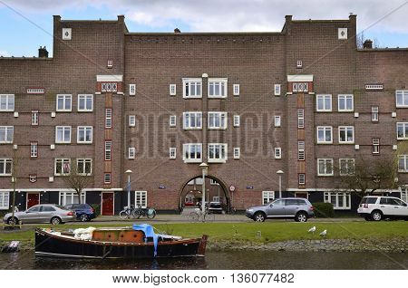 Red Brick Canal Building