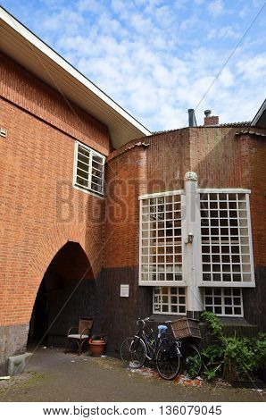 Red Brick Patio