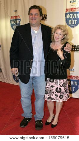 Jeff Garlin and Marla Garlin at the Celebrity Gala Opening For National Tour Of Movin' Out held at the Pantages Theatre in Hollywood, USA on September 17, 2004.