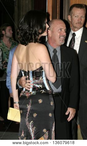 Billy Joel and Katie Lee at the Celebrity Gala Opening For National Tour Of Movin' Out held at the Pantages Theatre, in Hollywood, USA on September 17, 2004.