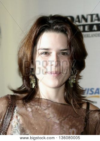 Neve Campbell at the Celebrity Gala Opening For National Tour Of Movin' Out held at the Pantages Theatre, in Hollywood, USA on September 17, 2004.