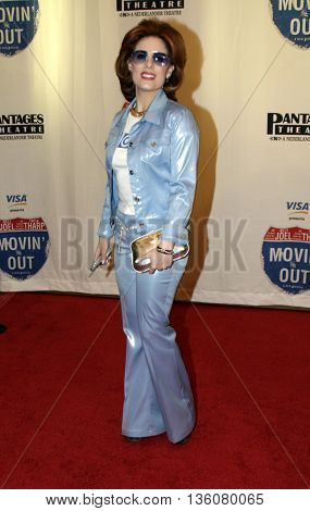 Kat Kramer at the Celebrity Gala Opening For National Tour Of Movin' Out held at the Pantages Theatre in Hollywood, USA on September 17, 2004.
