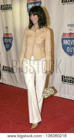 Jennifer Love Hewitt at the Celebrity Gala Opening For National Tour Of Movin' Out held at the Pantages Theatre in Hollywood, USA on September 17, 2004.