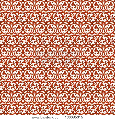 Seamless wallpaper patternr without a seam from beautiful bent lines