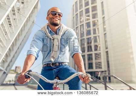Stylish Afro American Man