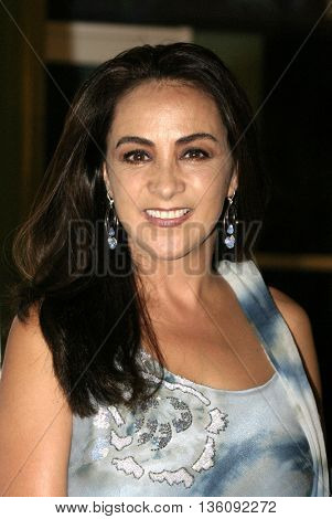 Alma Delfina at the Los Angeles premiere of 'Silver City' at the Arclight Cinerama Dome in Hollywood, USA on September 14, 2004.