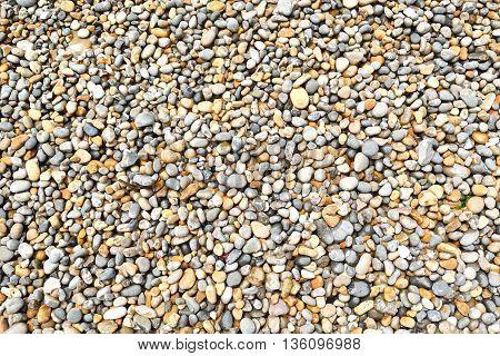 Detail of pebbles on Jurassic Coast, England