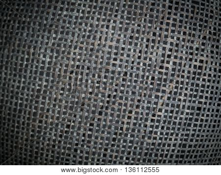 Abstract texture and pattern of bamboo handicraft.
