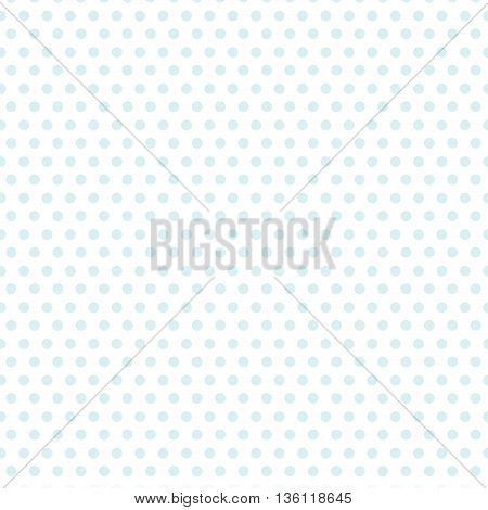 simple flat design blue polka dot background vector illustration
