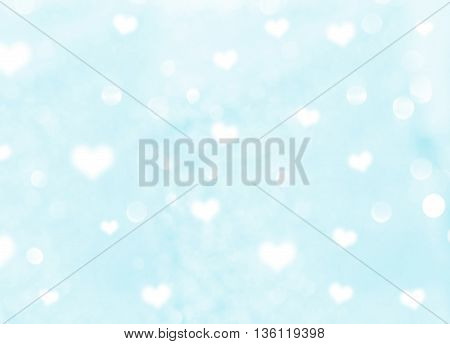 abstract Heart bokeh background use as love background