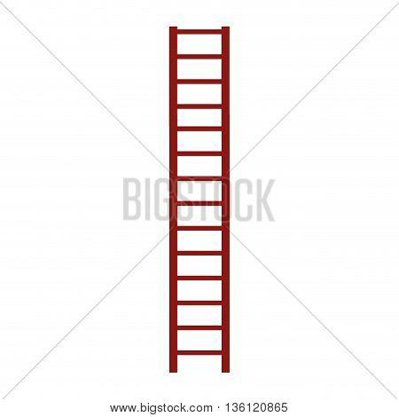 simple flat design of ladder icon vector illustration