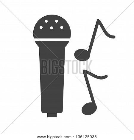 Microphone, music, studio icon vector image. Can also be used for music. Suitable for use on web apps, mobile apps and print media.
