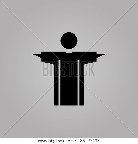 Church Prayer Priest Pastor Pictogram