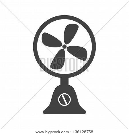 Fan, table, cool icon vector image.Can also be used for home. Suitable for mobile apps, web apps and print media.