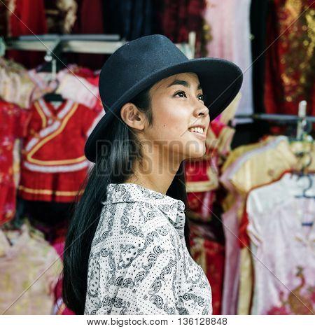 Asian Ethnicity Casual Enjoyment Portrait Joy Concept