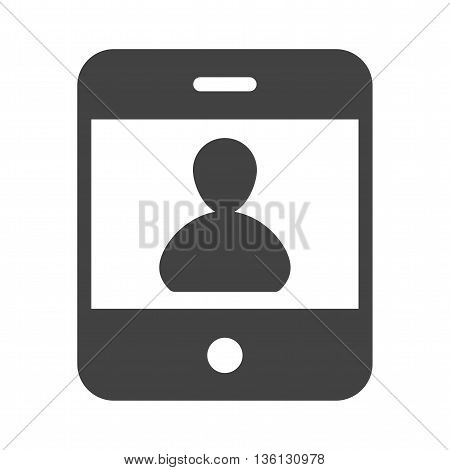 Online, phone, connection icon vector image. Can also be used for customer services. Suitable for use on web apps, mobile apps and print media.