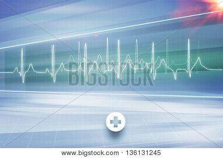 Medical Abstract Background; Abstract Background Suitable for Healthcare and Medical Topic News