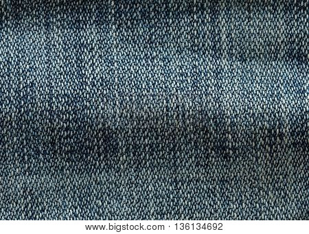 texture of denim jeans textile background, clothing industry